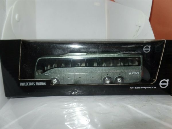Motorart 300058 1:87 HO Scale Volvo 9700 Bus Light Metallic Green